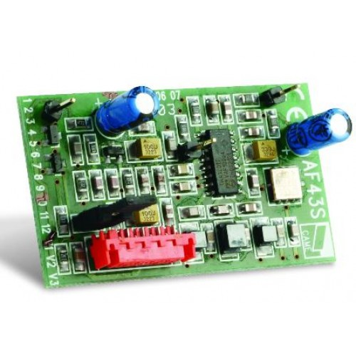 Came AF43S 433.92 Mhz plug-in radio frequency card.