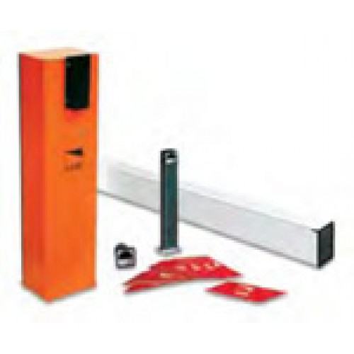 Came GARD4S Kit Complete 24Vdc barrier kit with square barrier arm for opening up to 4m