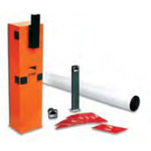 Came GARD4T Kit Complete 24Vdc barrier kit with tubular barrier arm for opening up to 4m